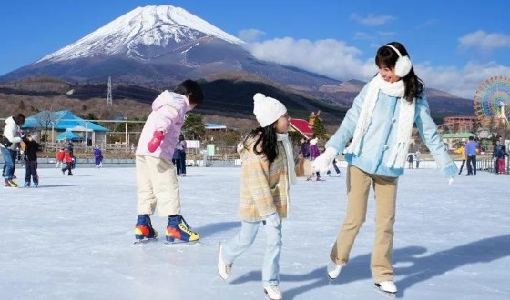 【新春特辑】日本奈良神鹿·富士山冰雪乐园·温泉体验6日