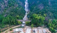 天台山大瀑布、济公故居1日游